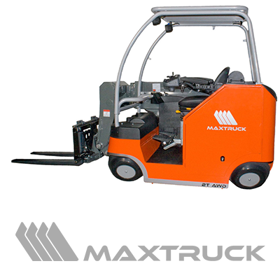 Maxtruck unique truck, client to Electrum Automation