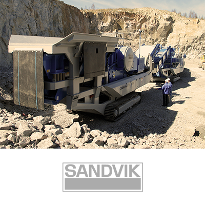 Sandvik mobile crusher, reference client to Electrum Automation