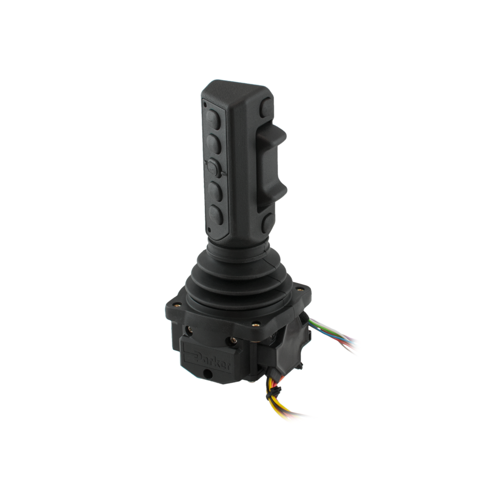 Emic-7, hand grips joystick