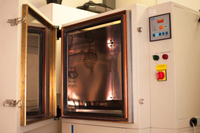 climate chamber at Electrum Automation